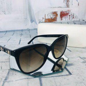 Versace MOD 4281 GB1/13 Black Brown Sunglasses EUC
